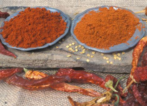 Chilipulver herstellen