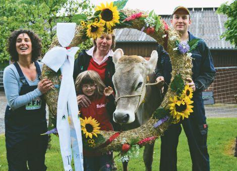Schnecke ist Hessens next Top-Kuh