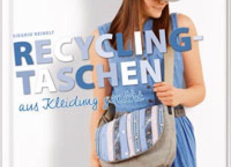 Recycling-Taschen aus Kleidung genäht