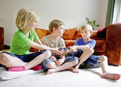 Rivalität unter Kindern