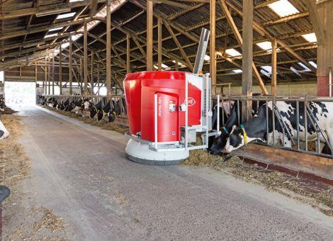 Milchviehfütterung automatisieren