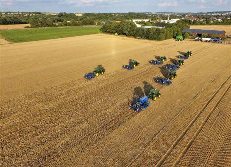 Viele Landwirte nutzten Gelegenheit zum Praxis-Test