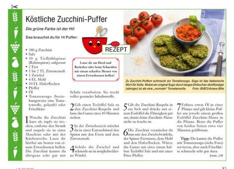 Köstliche Zucchini-Puffer