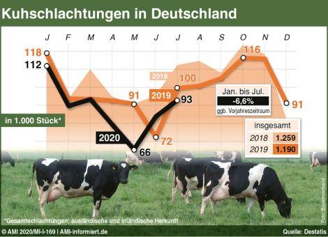 Kuhschlachtungen in Deutschland