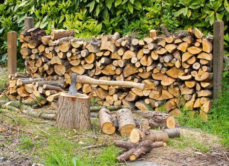 Lohnt sich das Heizen mit Holz?