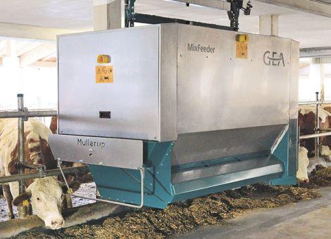 Automatische Fütterung vom Kalb bis zur Kuh