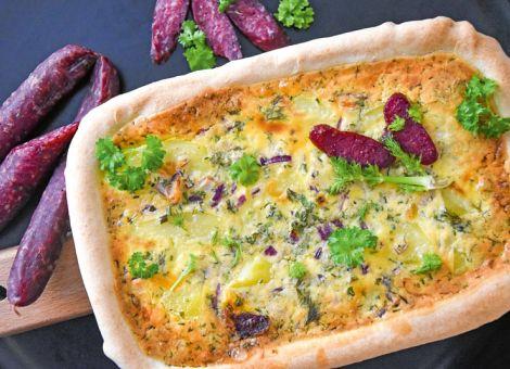 Kartoffel-Fenchel-Tarte