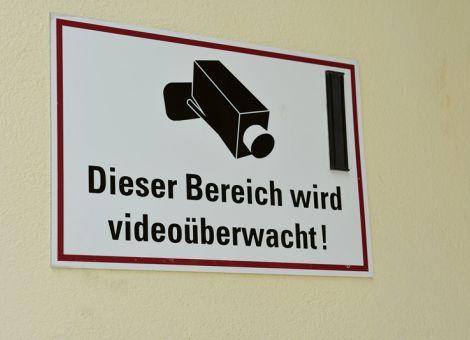 Videoüberwachung, um Diebstahl und Vandalismus zu vermeiden