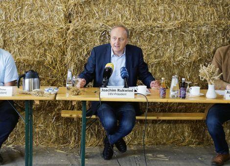 Bauernverband rechnet mit 45,4Mio. Tonnen Getreide
