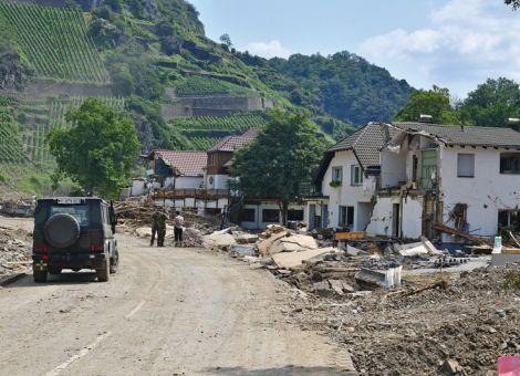 Breite Unterstützung nach Hochwasserkatastrophe