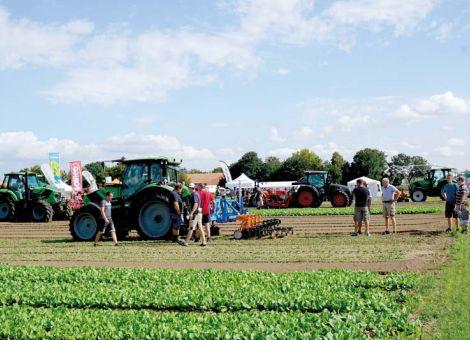 Maschinen für den Gemüsebau vorgestellt