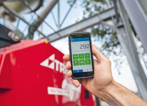 App für das Futtermanagement von Trioliet