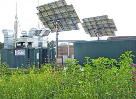 Strom aus Photovoltaik und Biogasanlagen