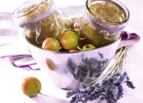 Mit Lavendel aromatisieren
