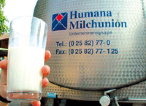 Humana Milchunion sieht sich gut aufgestellt
