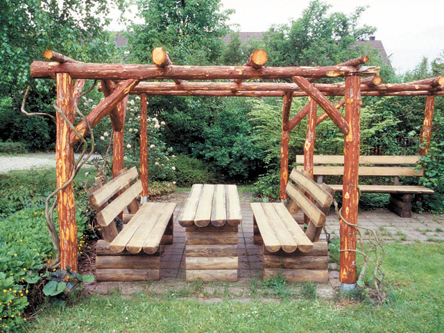 Rohstoff f r die gartengestaltung hof familie for Gartengestaltung rosenbogen