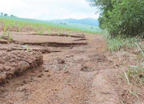 Land ändert voraussichtlich Erosions-Klassifikation