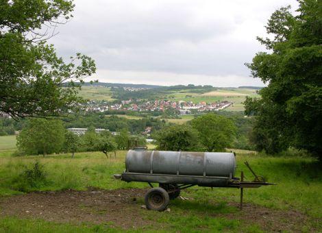 Panoramaansicht auf Brandoberndorf