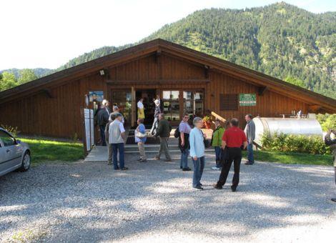 """Die Käserei """"Ammergauer Alpen"""" in Ettal wird als Genossenschaft betrieben."""