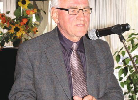 """Der Präsident der Deutschen Landsenioren, Dr. Bernd Unger, wünschte allen Landsenioren weiterhin viel Aktivität, denn """"wenn man nicht mehr gebraucht wird, so ein Sprichwort, dann ist man bald nicht mehr zu gebrauchen."""""""