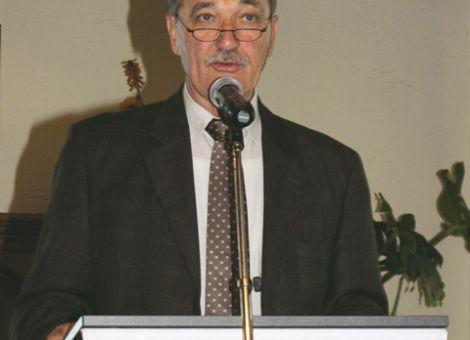 Geschäftsführer Gisbert Müller moderierte souverän die Vertreterversammlung des Landseniorenverbandes.